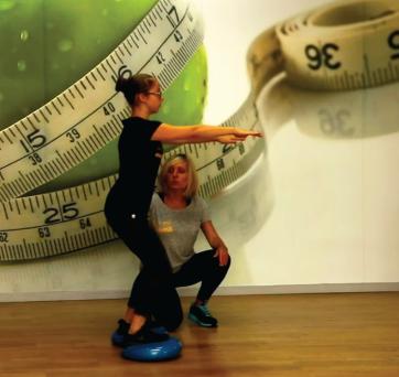 Profilaktyka wad postawy – ćwiczenia z dyskiem Qmed
